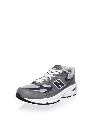New Balance Men's ML499 Running Shoe (Grey/Navy)