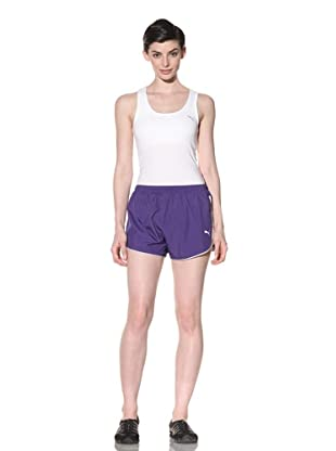 PUMA Women's Spinta Shorts (Team Violet)