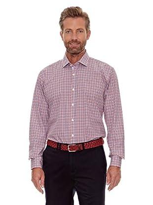 Cortefiel Camisa Cuadros (Rojo)