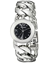 Geneva Women's FMDJM116 Analog Display Quartz Silver Watch