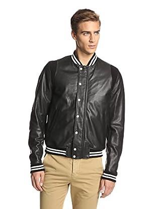 Band of Outsiders Men's Varsity Jacket (Black)