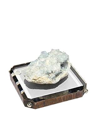 Theresa Seidel Celestine On Crystal Clear Acrylic, Clear/Black/Silver/Blue