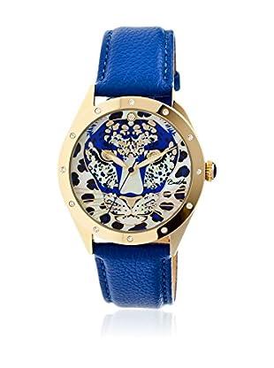 Bertha Uhr mit Japanischem Quarzuhrwerk Alexandra blau 41 mm