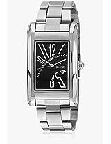DD3022CGBK01 Silver/Black Analog Watch Dvine