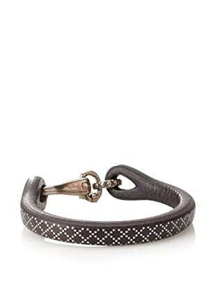 Gucci Crisscross Leather Bracelet