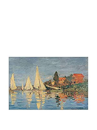ARTOPWEB Panel Decorativo Monet Regata at Bargenteuil 60x90 cm