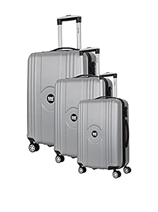 Bag Stone Set de 3 trolleys rígidos