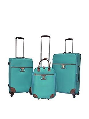 Travelers Club 3-Piece Softcase Luggage Set