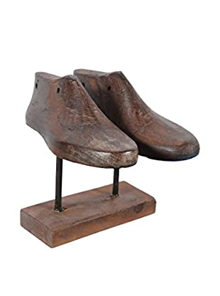 Double Shoe Mold, Brown