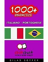 1000+ Esercizi Italiano - Portoghese (ChitChat WorldWide) (Italian Edition)