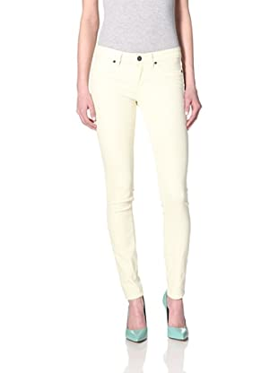 Rich & Skinny Women's Foam Dye Skinny Jean (Golden Delicious)