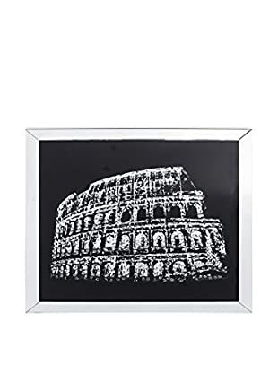HOME FURNITURE Wandbild silber/schwarz