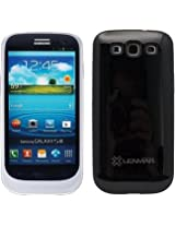 Halo Samsung Galaxy S III / S3 Extended Battery Case - Black/Silver