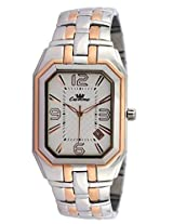 Ciemme Men's Luxury Watches White Dial Stainless Steel Rose Gold Swiss Quartz Movement