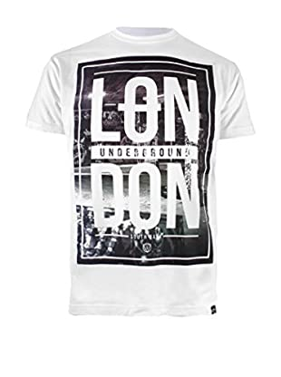 COTTON SOUL Camiseta Manga Corta London Underground