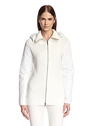 Nick by Nicholas K. Women's Lena Hidden Zip-Front Sweater