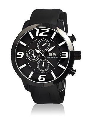 Mos Reloj con movimiento cuarzo japonés Mosml101 Negro 50  mm