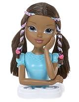 Moxie Girlz Magic Hair Bendy Braids Torso - Bria