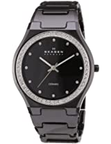 Skagen Analog Black Dial Women's Watch - 813LXBC