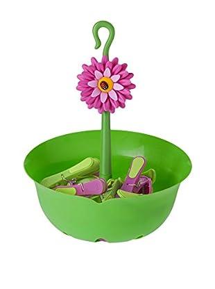 VIGAR Cesta Flower Power Verde