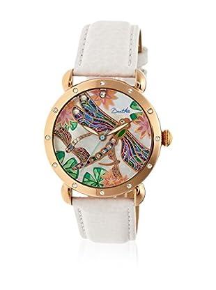 Bertha Uhr mit Japanischem Quarzuhrwerk Jennifer weiß 41 mm