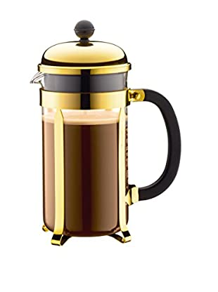 Bodum Chambord 8-Cup French Press Coffee Maker, Gold