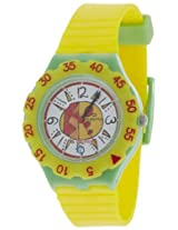 Maxima Analog White Dial Children's Watch - 04472PPKW