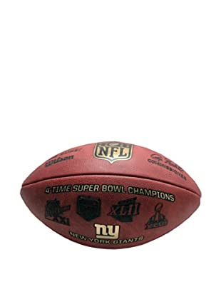 Steiner Sports Memorabilia NFL New York Giants Eli Manning, Phil Simms & OJ Anderson Signed Football