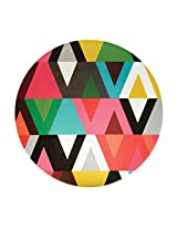 French Bull - Melamine Serving Platter - 15-1/2-Inch Round Serving Tray - for Indoor and Outdoor Entertaining - Viva