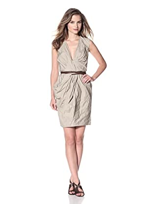 KaufmanFranco Women's Draped Wrap Dress (Twine)