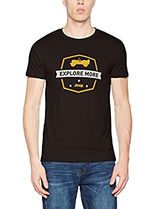 Jeep T-Shirt Manica Corta Explore More J7S