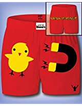 Chick Magnet Boxer Shorts Mens Small