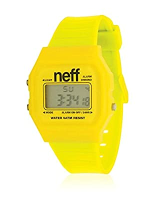 Neff Quarzuhr Flava gelb 35  mm