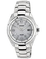 Citizen Eco-Drive Analog Silver Dial Men's Watch BM6880-53B
