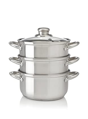 Fagor Stainless-Steel 2-Quart Double Boiler with Steamer Insert
