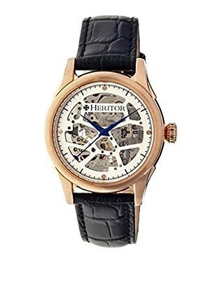 Heritor Automatic Uhr Nicollier Herhr1905 schwarz 43  mm