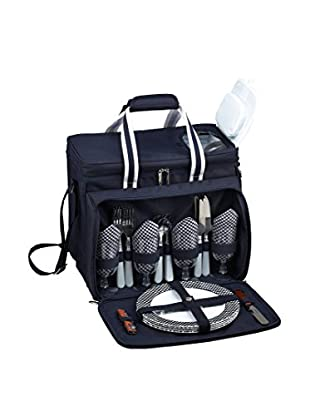 Picnic At Ascot Bold Cooler For Four, Navy