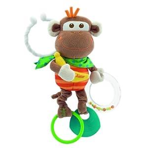 Chicco Multi Activity Vibrating Monkey Rattle
