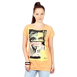 Trendy Facial Graphic Printed Tee