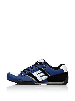 Erase Zapatillas Deportivas con Cordones (Azul Royal / Negro)