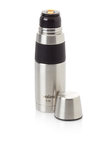 Valira Stainless Steel Vacuum Flask, 16.9-Oz.