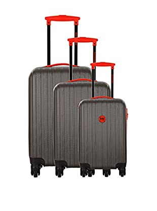 Bag Stone Set de 3 trolleys rígidos Milady