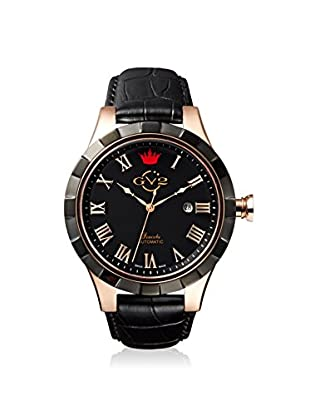 GV2 by Gevril Men's 9505 Scacchi Black Leather Watch