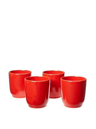 COLI Set of 4 Water Tumblers (Red)
