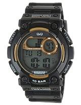 Q&Q Regular Digital White Dial Men's Watch - M141J003Y