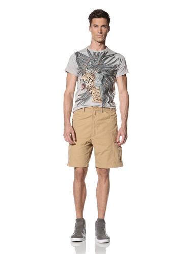 Maharishi Men's Classic Lock Cargo Shorts (Sand)