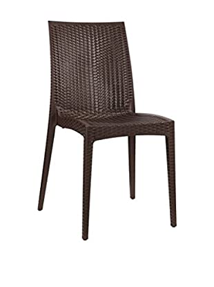 Modway Intrepid Dining Chair, Coffee