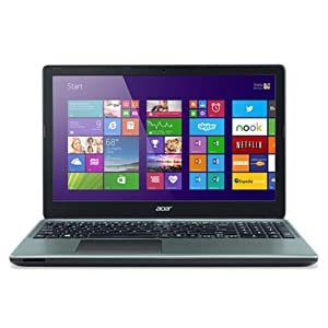 Acer E1-570 NX.MGUSI.003 15.6-inch Laptop (2GB/Linux/with Laptop Bag), Grey