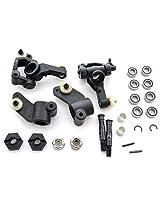 Ae Team Associated 1/10 Sc10 B Rs 2 Wd * Steering Caster Blocks, Axles & Bearings