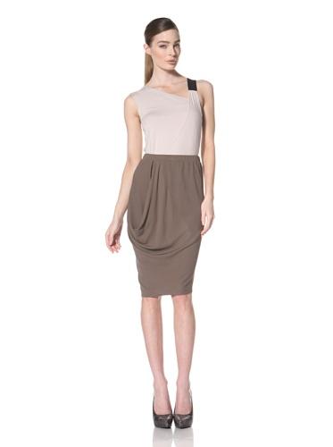 Zero + Maria Cornejo Women's Ulla Cowl Skirt (Funghi)
